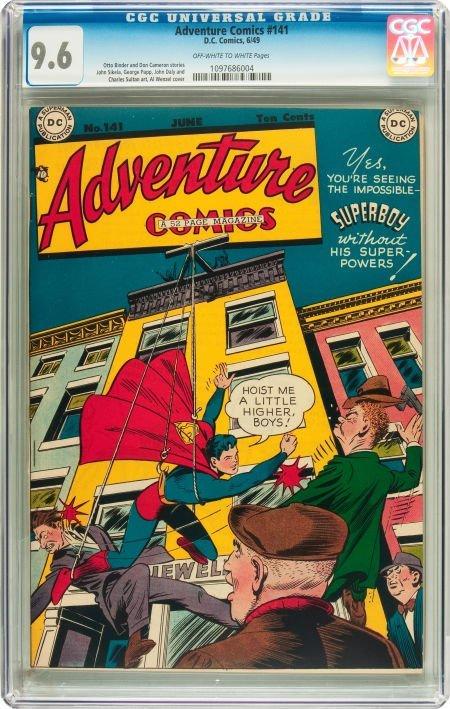 91024: Adventure Comics #141 (DC, 1949) CGC NM+ 9.6 Off