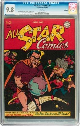 All Star Comics #29 Big Apple Pedigree (DC, 1946