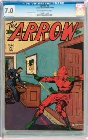 Arrow #1 (Centaur, 1940) CGC FN/VF 7.0 Off-white