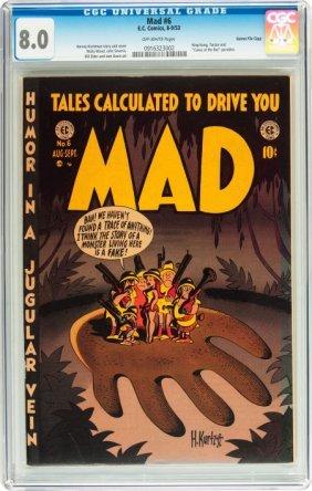 Mad #6 Gaines File Pedigree 8/12 (EC, 1953) CGC
