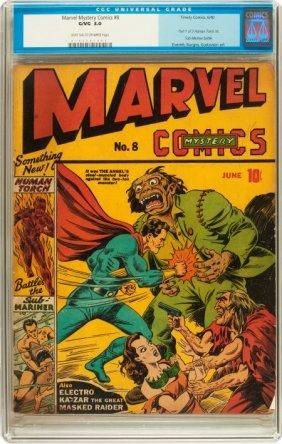 Marvel Mystery Comics #8 (Timely, 1940) CGC GD/V