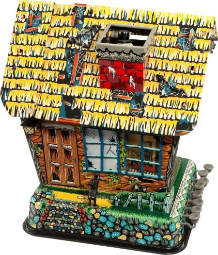 91414: Hootin' Hollow Haunted House With Original Box (