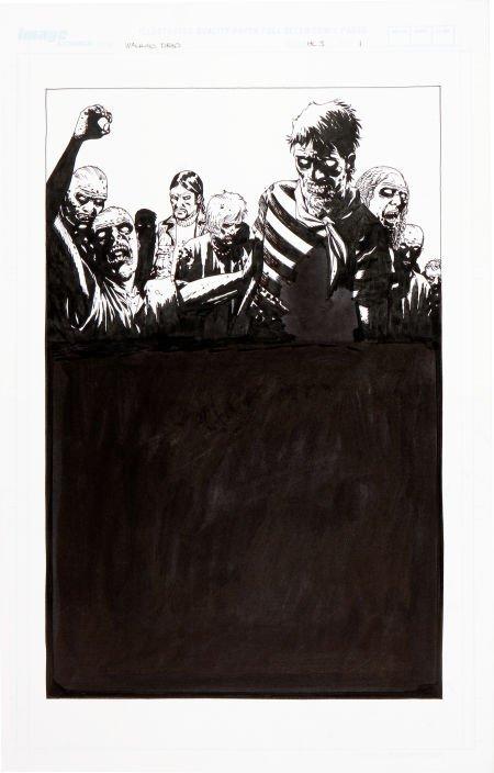 92004: Charlie Adlard The Walking Dead Book 3 Hardcover
