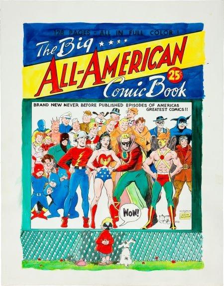 92006: Murphy Anderson Big All-American Comic Book #1 C
