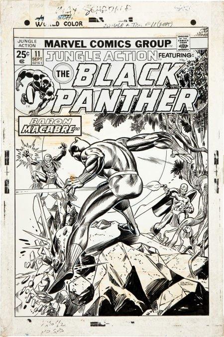 92194: Gil Kane and Dan Adkins Jungle Action #11 Black
