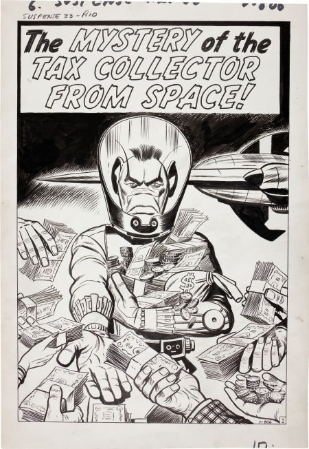 92201: Jack Kirby and Dick Ayers Tales of Suspense #33