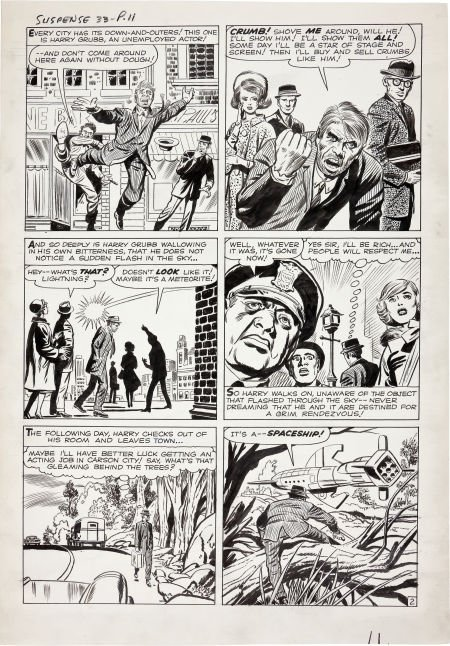 92202: Jack Kirby and Dick Ayers Tales of Suspense #33