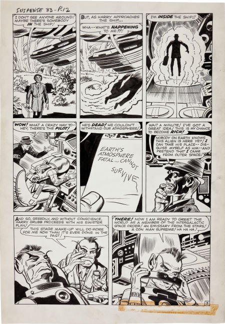 92203: Jack Kirby and Dick Ayers Tales of Suspense #33