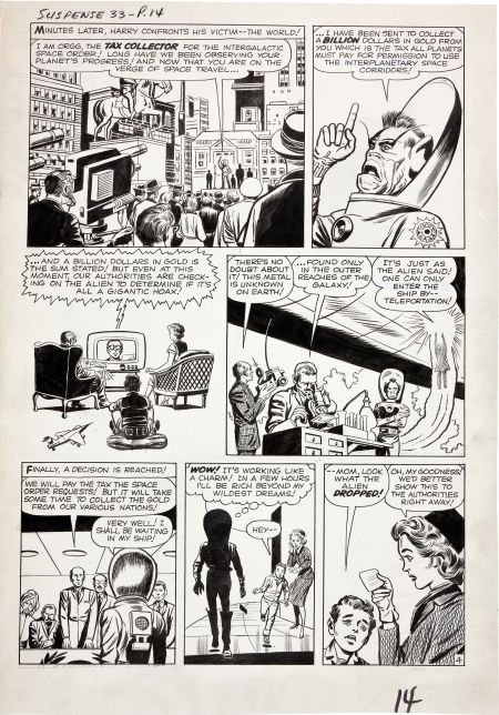 92204: Jack Kirby and Dick Ayers Tales of Suspense #33