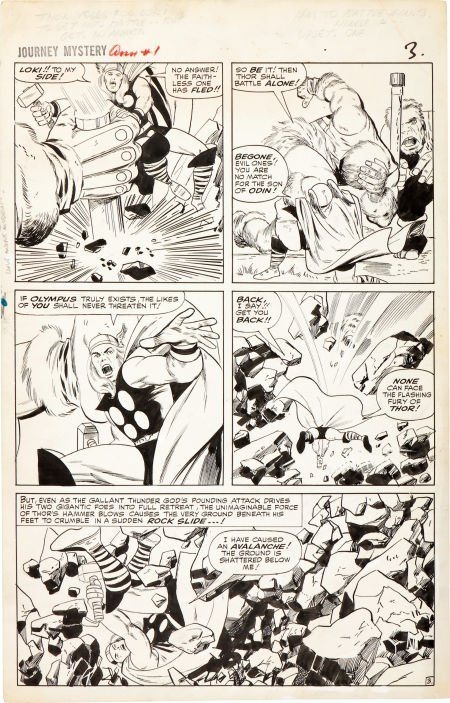 92208: Jack Kirby and Vince Colletta Journey Into Myste