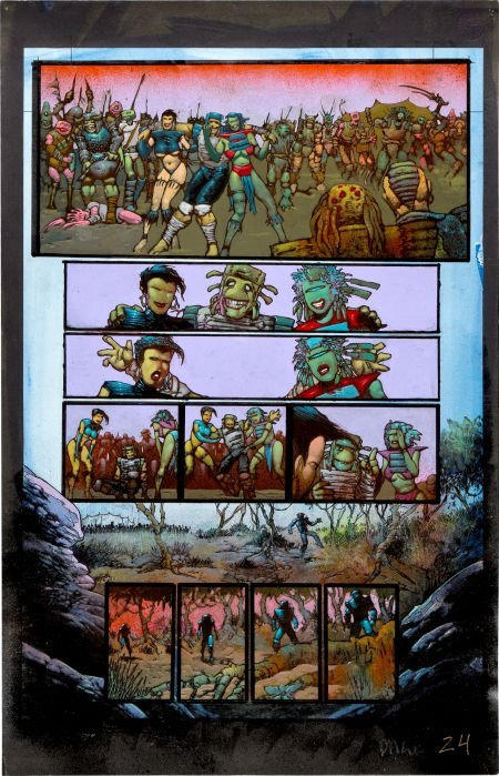 92024: Simon Bisley and Kevin Eastman Melting Pot Book