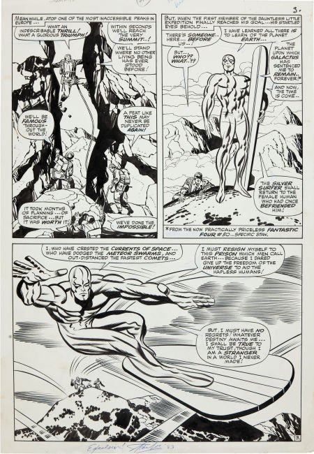 92211: Jack Kirby and Joe Sinnott Fantastic Four #55 Sp