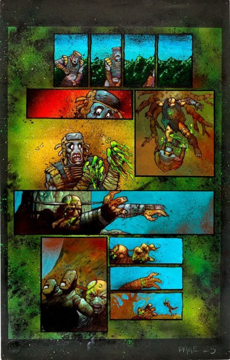 92025: Simon Bisley and Kevin Eastman Melting Pot Book