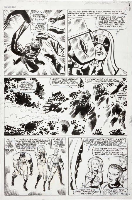 92212: Jack Kirby and Joe Sinnott Fantastic Four #65 Ro