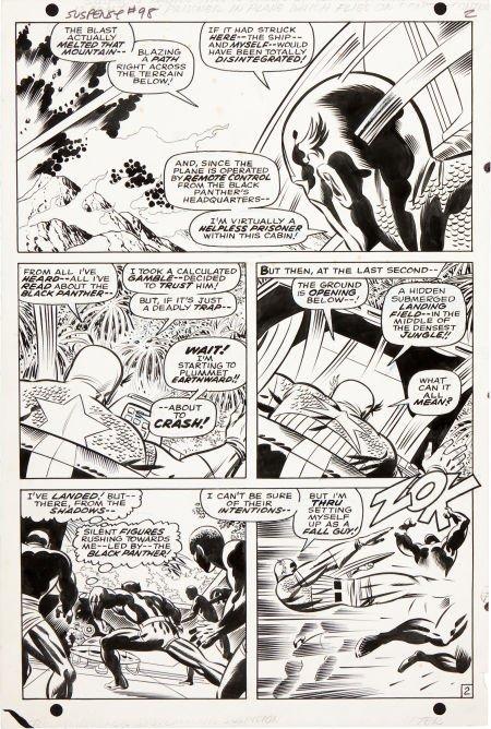 92214: Jack Kirby and Joe Sinnott Tales of Suspense #98