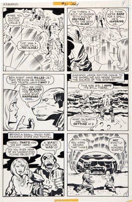 92216: Jack Kirby and D. Bruce Berry Kamandi, The Last