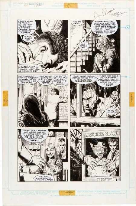 92038: Brian Bolland Batman: The Killing Joke Page 9 Or