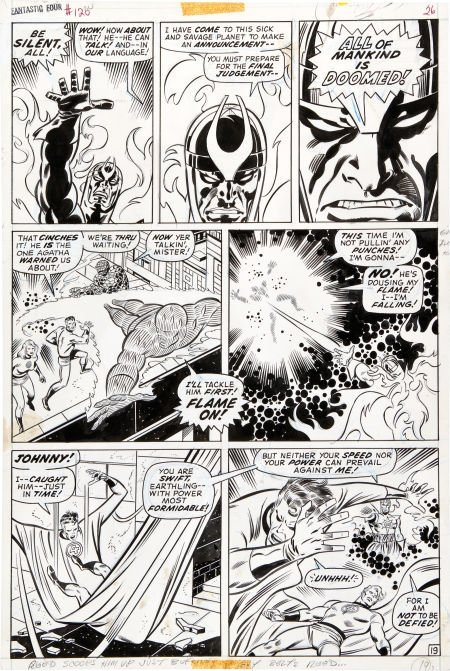 92046: John Buscema and Joe Sinnott Fantastic Four #120