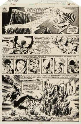 John Byrne And Terry Austin X-Men #119 Page 22 O
