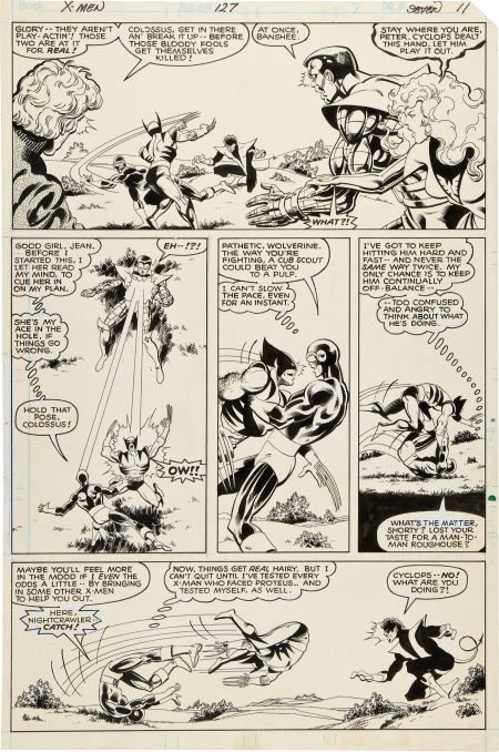 92059: John Byrne and Terry Austin The X-Men #127 Cyclo