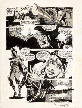 Howard Chaykin Vampire Tales #7 Page 8 Original