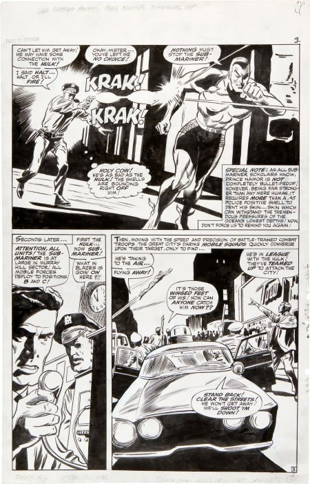 92075: Gene Colan and Dick Ayers Tales to Astonish #84