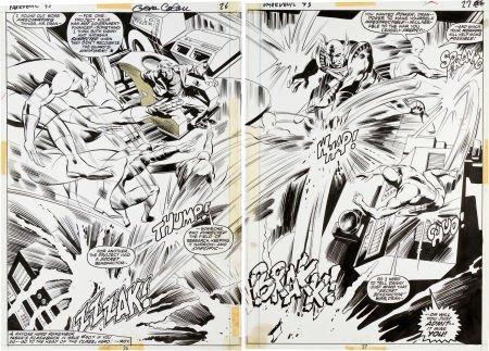 92077: Gene Colan and Tom Palmer Daredevil #93 Double-S