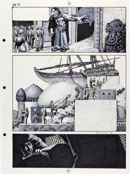 92081: Richard Corben New Tales of the Arabian Nights P