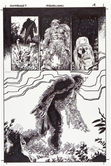 92083: Richard Corben Swamp Thing #7 Page 18 Original A