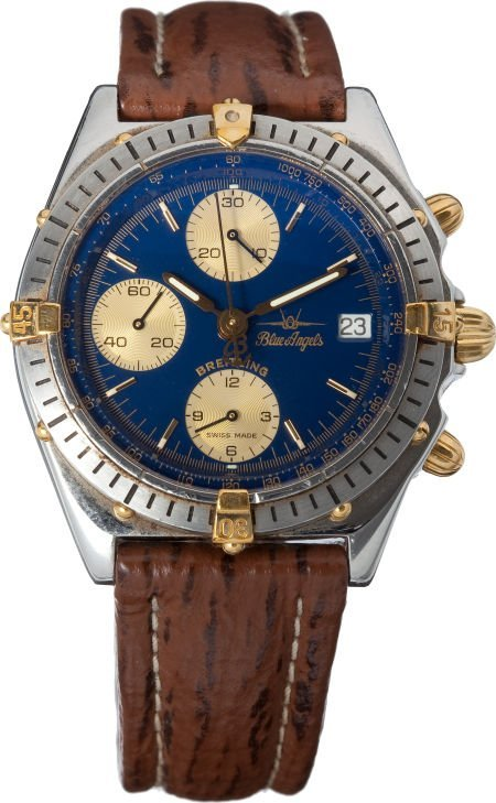 40004: Breitling Blue Angels Edition Chronomat Automati