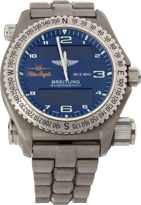 40005: Breitling Blue Angels Edition Emergency Quartz W