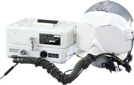 40011: Strategic Air Command HGU-55/P Helmet with EEU-2