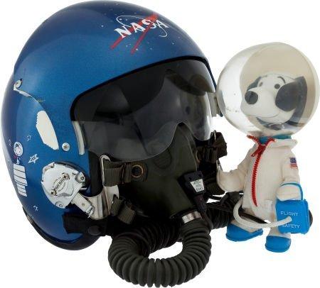"40012: NASA ""Snoopy"" Customized HG-44/P Style Flight He"