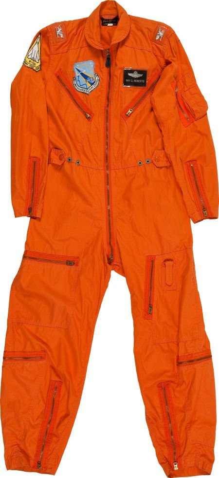 40019: F-111 Orange Flight Suit, Air Force Colonel Ray