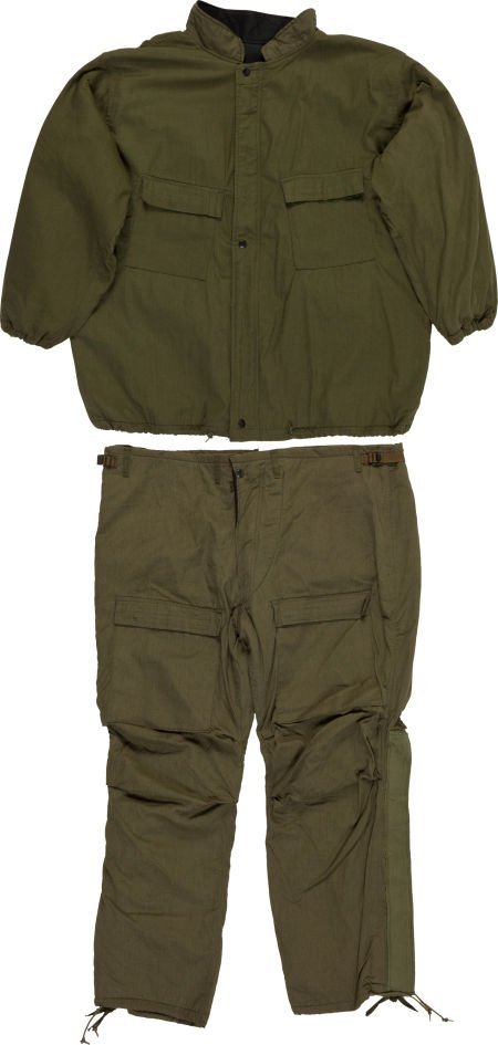 40022: Military Chemical Protective Suit Jacket and Pan