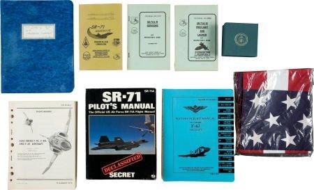 40024: SR-71, U-2, and F-4 Aviation-Related Books, Manu