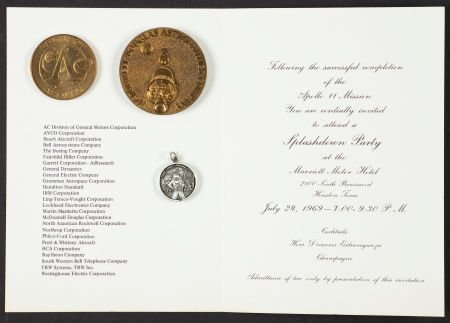 40123: Apollo 11-Related Items from the Ed White II Fam