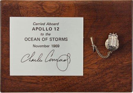 40128: Apollo 12 Lunar Module Flown SNAP 27 RTG Tie Tac