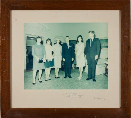 40040: [Gordon Cooper] John F. Kennedy: Large Color Pho
