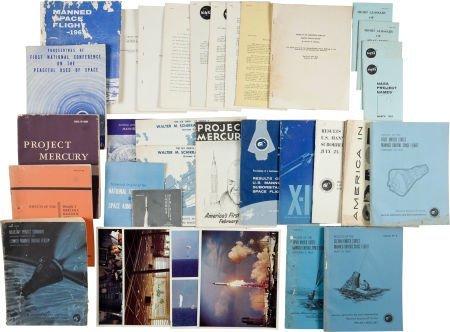 40042: Project Mercury: Collection of Original NASA Pub