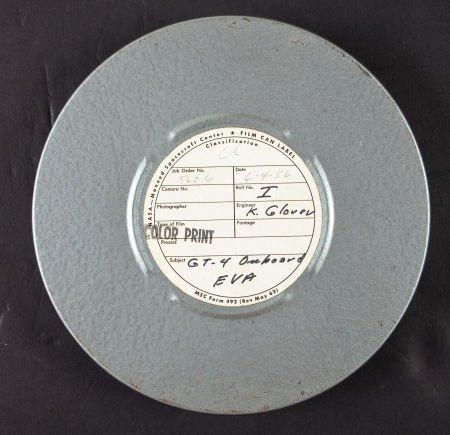 40045: Gemini 4: Original 16mm Color Film Print of Amer