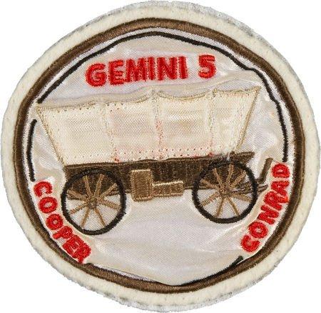 40056: Gemini 5: Mission Commander Gordon Cooper's Worn