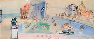 64006: RAOUL DUFY (French, 1877-1953) Venise Imaginaire