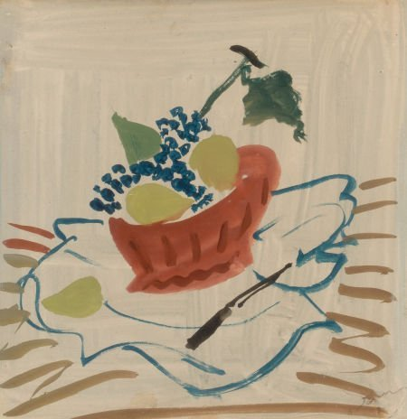 64007: ANDRÉ DERAIN (French, 1880-1954) Still Life with