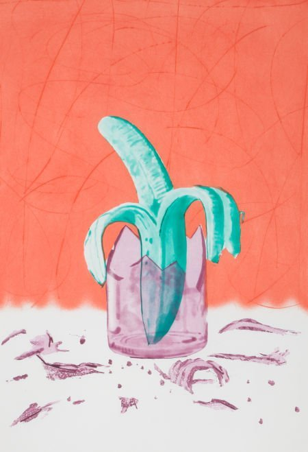 89004: JAMES ROSENQUIST (American, b. 1933) The Glass W