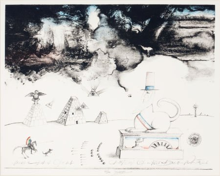 89021: SAUL STEINBERG (Romanian, 1914-1999) Thirteen Co