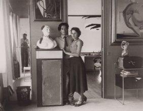 BRASSA� (French, 1899-1984) Salvador Dali Et Gal