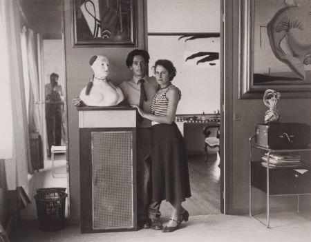 89033: BRASSAÏ (French, 1899-1984) Salvador Dali et Gal