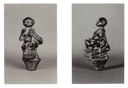 89036: WALKER EVANS (American, 1903-1975) African Wood