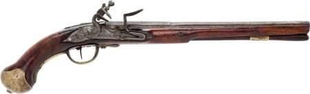 52287: Circa 1710 British Original Flintlock Military H